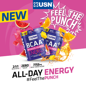 BCAA+ Power Punch Energy